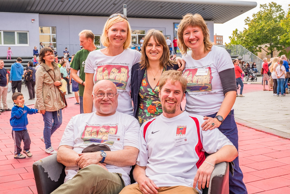 QM-Team im Falkenhagener Feld (Foto: Ralf Salecker)