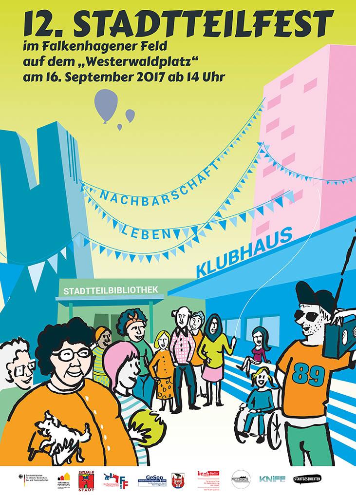 12. Stadtteilfest im Falkenhagener Feld 2017