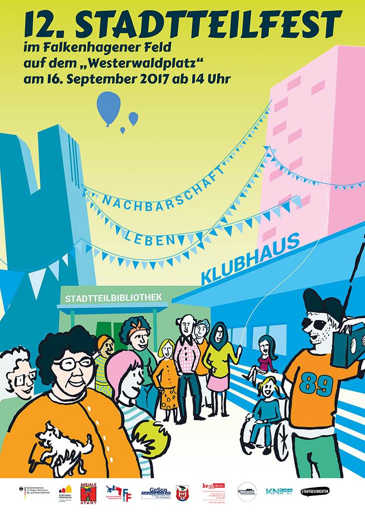 12. Stadtteilfest im Falkenhagener Feld