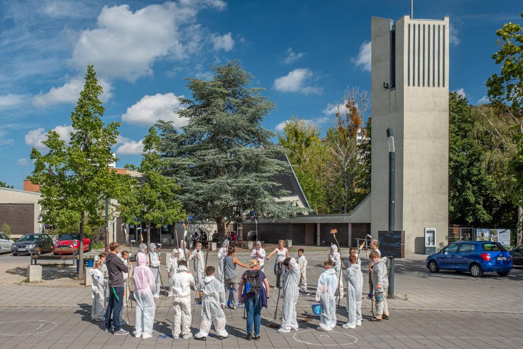 Westerwaldplatz - Der Mondmann (Foto: Ralf Salecker)