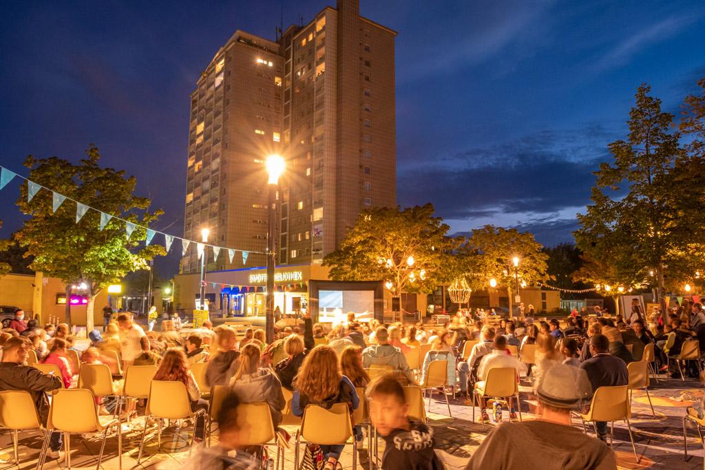 Westerwaldplatz - Open-Air-Kino (Foto: Ralf Salecker)