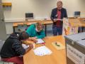 Quartiersratswahlen 2021 im Falkenhagener Feld - Abschluss (Foto: www.salecker.info)
