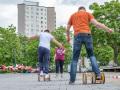 Spielmobil-Fest vom 28.5. auf dem Westerwaldplatz (Foto: Ralf Salecker)