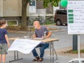 Spielstraßenaktion am Westerwaldplatz (Foto: Ralf Salecker)