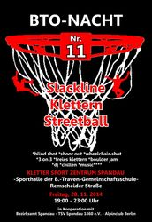 11. BTO-Kletter- und Streetballnacht im Falkenhagener Feld
