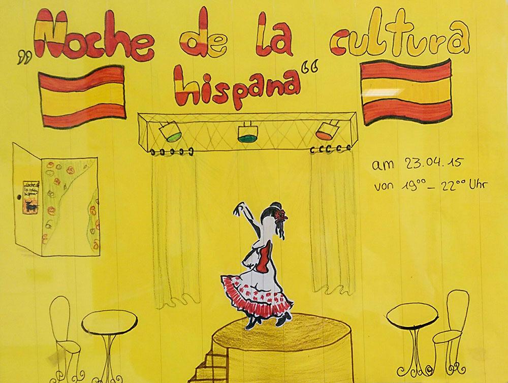 """Noche de la cultura hispana"" in der Martin Buber Oberschule"