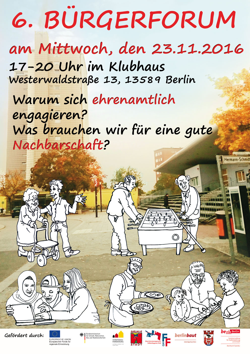6. Bürgerforum im Falkenhagener Feld