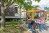 Mobiles Café am Westerwaldplatz
