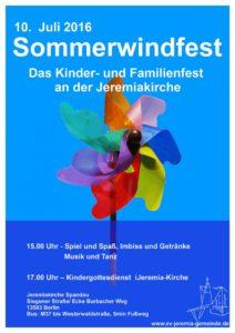 Sommerwindfest 2017 im Falkenhagener Feld