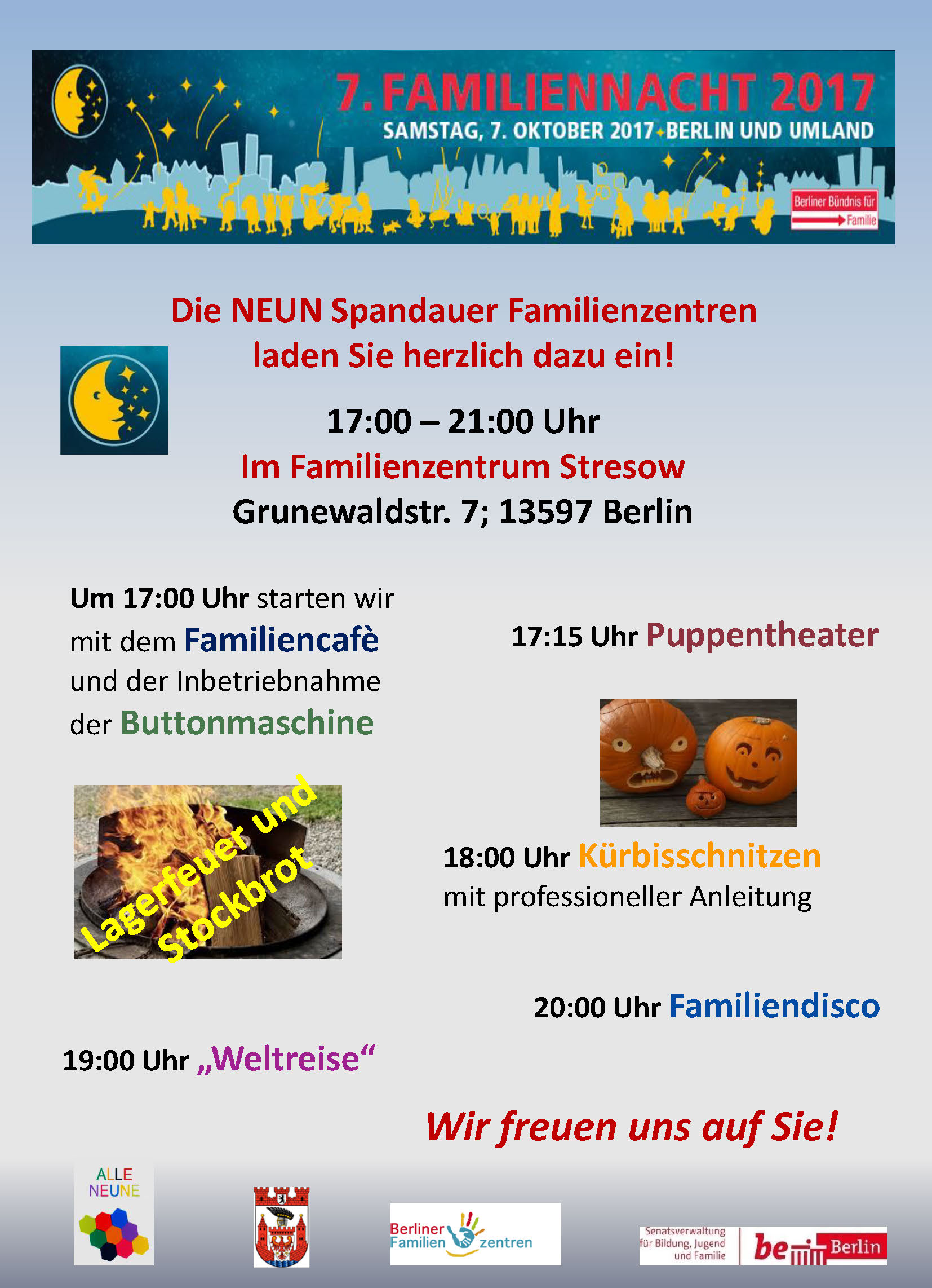7. Familiennacht in Spandau