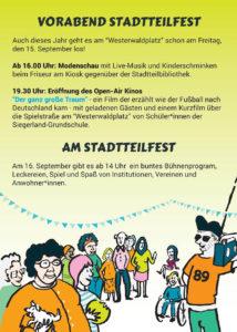 12. Stadtteilfest in Falkenhagener Feld