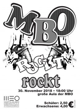 Rockkonzert in der Martin-Buber-Oberschule