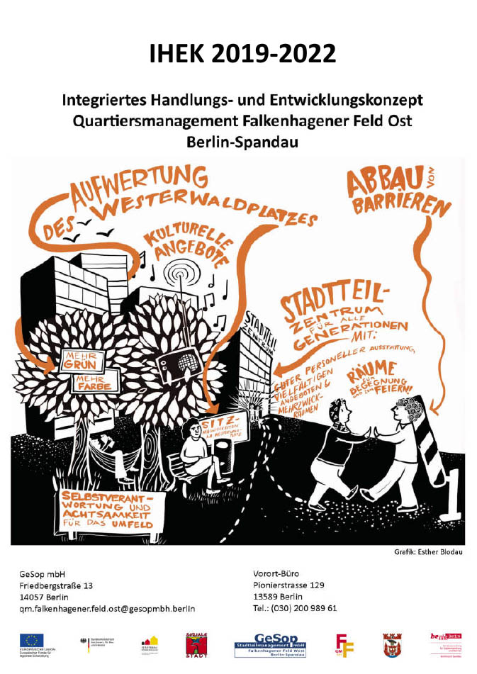 Das neue Integrierte Handlungs- und Entwicklungskonzept für das QM FF Ost ist online