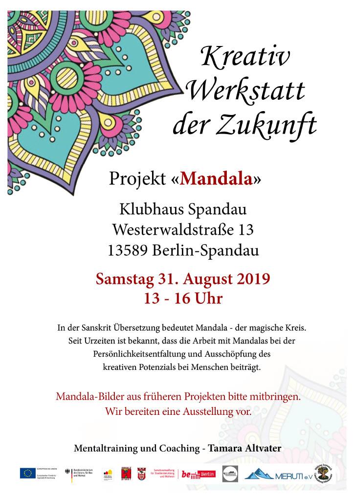Mandala – Kreativwerkstatt der Zukunft im Klubhaus Spandau