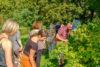 Spandauer Quartiersgebiete in der Gartenarbeitsschule Spandau