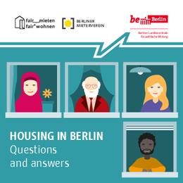 """""""Wohnen in Berlin – Fragen und Antworten"""" eine Broschüre in fünf Sprachen"""