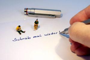 Schreib mal wieder
