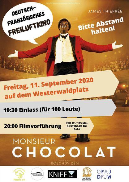 1. Deutsch-französischer Kinoabend im Falkenhagener Feld